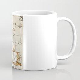 New England Ancient Map (1747) Coffee Mug