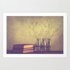 Be still  Art Print