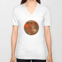 window V-neck T-shirts featuring Window by Cansu Girgin