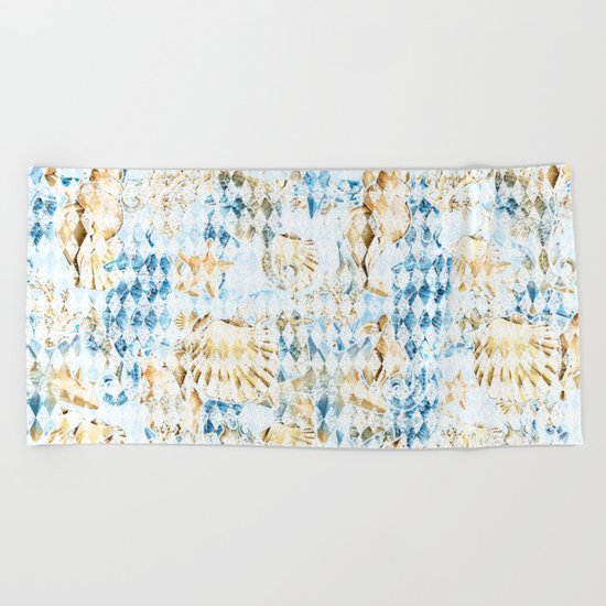 Sea & Ocean #7 Beach Towel
