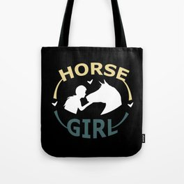 Horse Girl - Horse Horseback Riding Racing Cowgirl Tote Bag