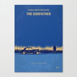 No686-1 My Godfather I minimal movie poster Canvas Print