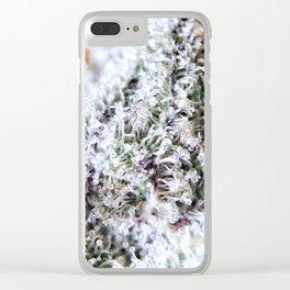 Platinum Purple Strain Genetics OG Kush x Purple Urkle Clear iPhone Case
