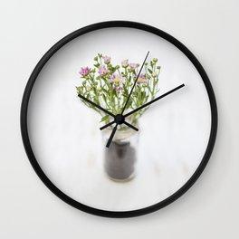 Daisies I Wall Clock
