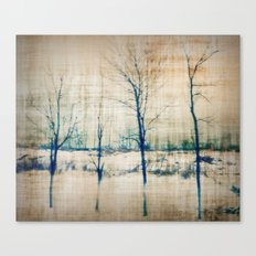 4 Trees  Canvas Print