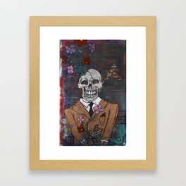 The Perfect Suitor Framed Art Print