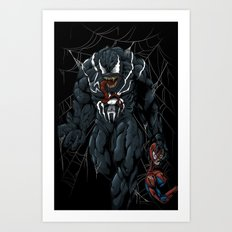 Vicious Venom Violence Art Print
