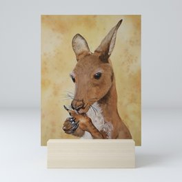 Jeremy's Thumb - Kangaroo Mini Art Print