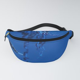 Fish and friend jellyfish Man O´War Fanny Pack