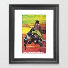 Pet Sounds Framed Art Print