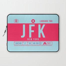Luggage Tag B - JFK New York John F. Kennedy USA Laptop Sleeve