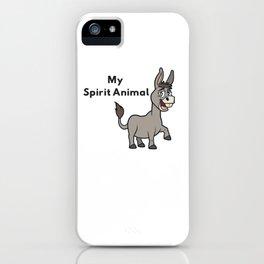 My Spirit Animal iPhone Case