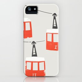 Barcelona Cable Cars iPhone Case