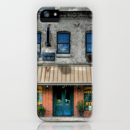 Giddings, Texas iPhone Case