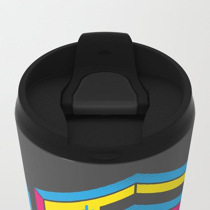 F*** The What? Metal Travel Mug