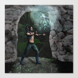 Conjuring The Dragon Canvas Print