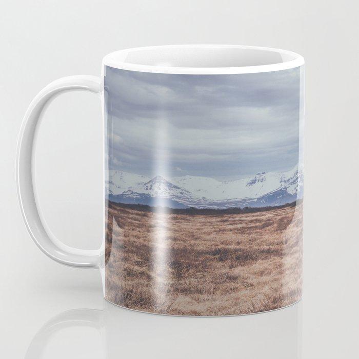 mountains of iceland Coffee Mug