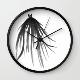 Evening Gown II Wall Clock