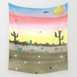 skyscapes 8 Wall Tapestry