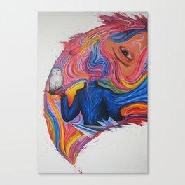 A Lover's Desire Canvas Print