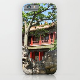 Forbidden City Gardens House  iPhone Case