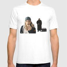 Jay and Silent Bob, Clerks 2 MEDIUM White Mens Fitted Tee