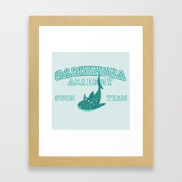 Samezuka - Whale Shark Framed Art Print