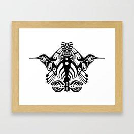 Bassnectar Family Crest Framed Art Print