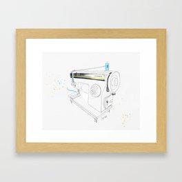 Vintage Singer 964 Sewing Machine Framed Art Print