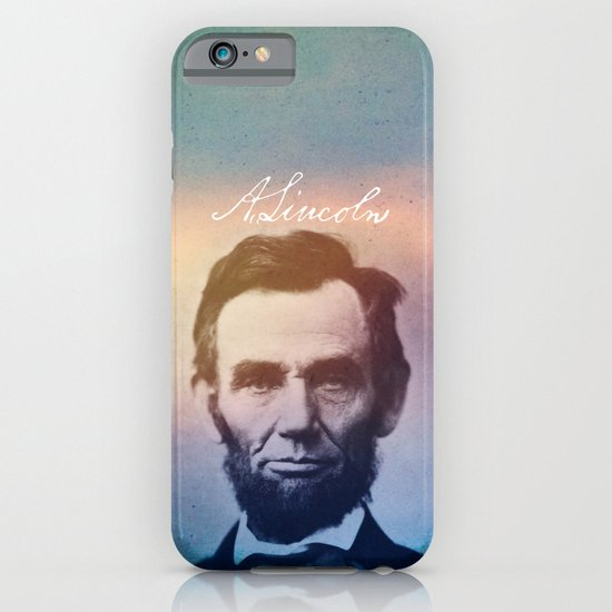 Stand Firm. Lincoln. 1809-1865. iPhone & iPod Case