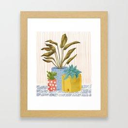 Little Garden || Framed Art Print
