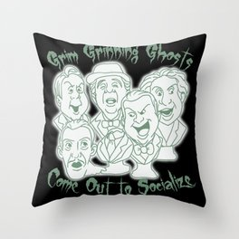 Singing Busts Throw Pillow
