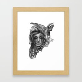 REBEL REBEL Framed Art Print