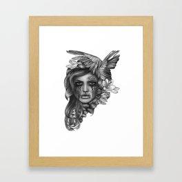 REBEL REBEL Framed Art Print