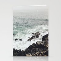 maine Stationery Cards featuring Maine Coast by Thais Marchese