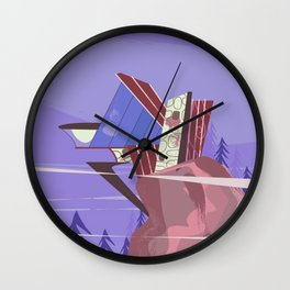 House of the future! Wall Clock