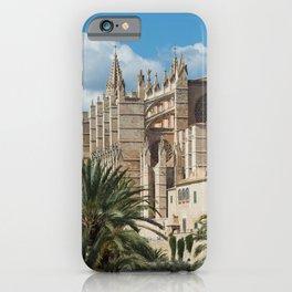 Catedral of Palma de Mallorca iPhone Case