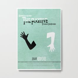 The Fugitive Metal Print