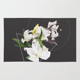 Tropical Flowers & Geometry II Rug
