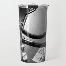 Arm of Power Industrial Hydraulic Digger System Travel Mug