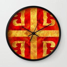 Katakouzenos coat of arms Wall Clock