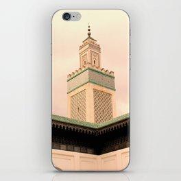 Grande Mosquee de Paris  iPhone Skin