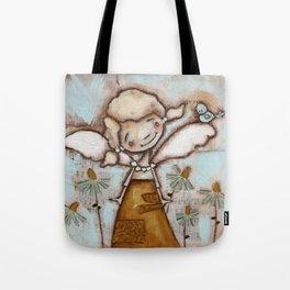 I Am Listening - by Diane Duda Tote Bag