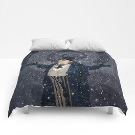 Oswald Cobblepot - The King Penguin Returns! Comforters