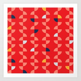 Geometric Pattern #2 Art Print