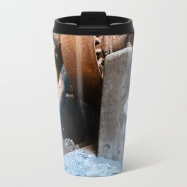 Old Rusty Salt Machine Travel Mug