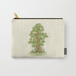 Tree House Carry-All Pouch