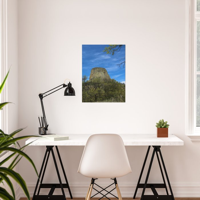 Devils Tower View Poster