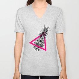 Pineapples & Triangles Unisex V-Neck