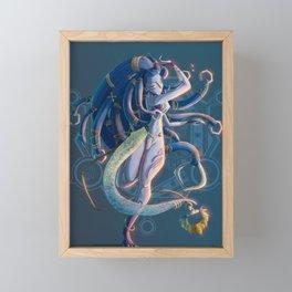 Shiva Framed Mini Art Print